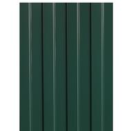 Профнастил С-8, 1,2×2м, толщина 0,4мм, RAL6005
