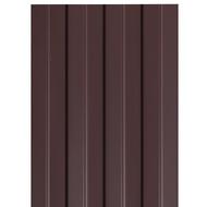 Профнастил С-8, 1,2×2м, толщина 0,4мм, RAL8017