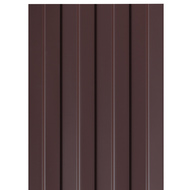 Профнастил СП-20, 1,15×6м, толщина 0,4мм, RAL8017