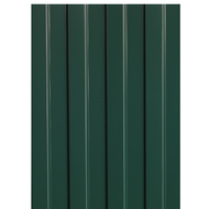 Профнастил СП-20, 1,15×6м, толщина 0,5мм, RAL6005