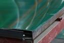 Лист оцинкованный, 1,25×2м, толщина 0,4мм, RAL6005, взащитной плёнке
