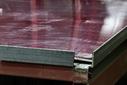 Лист оцинкованный, 1,25×2м, толщина 0,5мм, RAL3005, взащитной плёнке