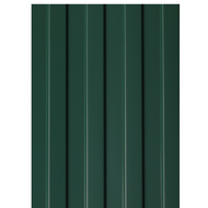 Профнастил СП-20, 1,15×1,5 м, толщина 0,5 мм, RAL6005